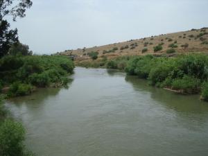 The Jordan River near Galillee